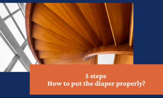 How to put the diaper properly?